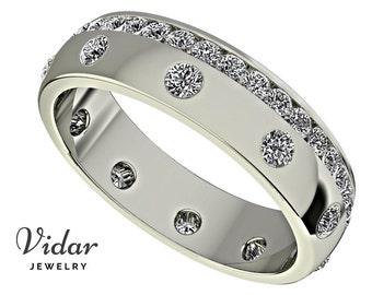 unique wedding band for mendiamond wedding ringdiamond wedding band for a men - Mens Wedding Rings With Diamonds