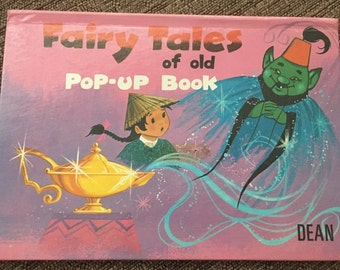 Fairy Tales of Old Pop-Up Book Vintage Children's Book 1977