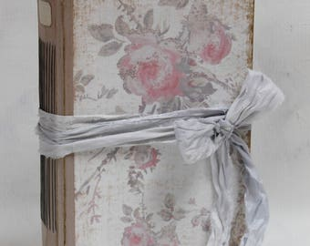 """Blush pink country wedding guest book