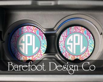Personalized Custom Sandstone Car Coaster