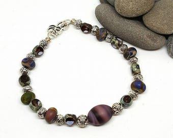 Perfectly Purple Bohemian Bracelet - Perfectly Purple Bracelet - Purple Bracelet - Bohemian Bracelet