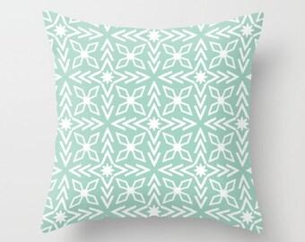 Mint Pillow Etsy