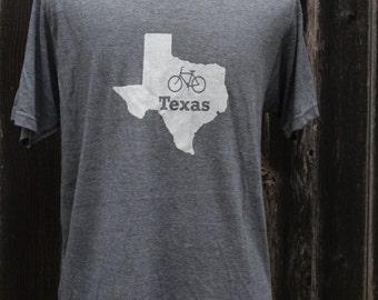 Bike Texas Screenprinted Shirt