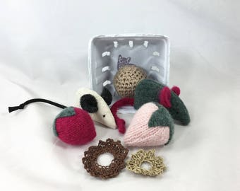 KittenKit: All Natural Gift Set for your Cat, eco-friendly cat toys