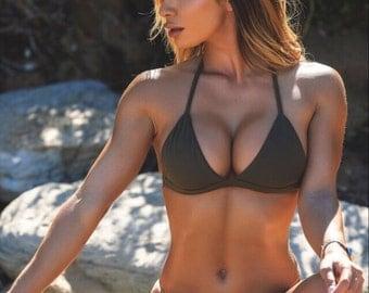 Olive branch bikini