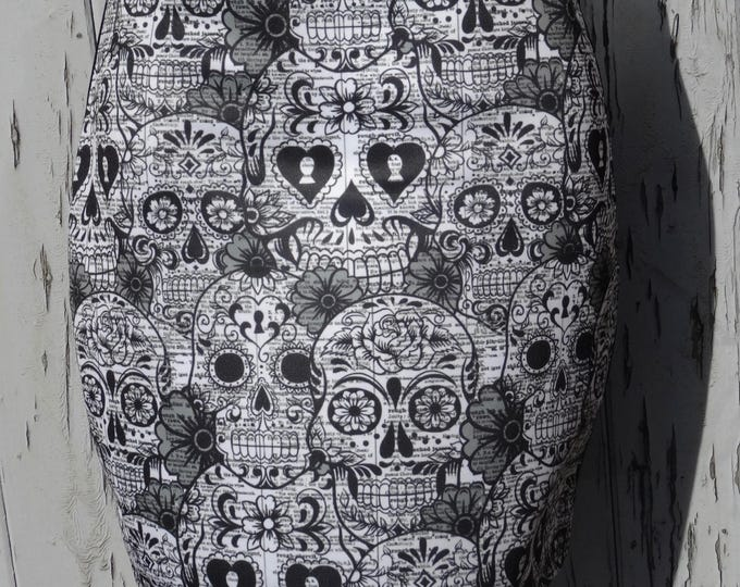Day Of The Dead Candy Skull Mini Skirt