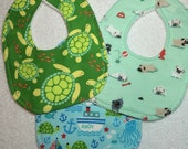 Baby Bib & Burp Cloth - RESERVED PFC