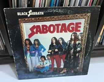 """Black Sabbath - """"Sabotage"""" vinyl record"""