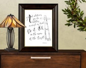 And whatever you do whether in word or deed . . . Colossians 3:17 Scripture download Printable Art Print decor LemonDropImages