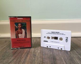 """Whitney Houston """"Whitney Houston"""" cassette tape"""
