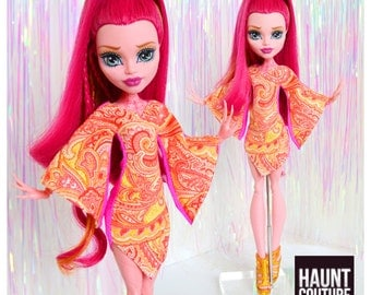 """Monster Doll Haunt Couture: """"Genie Style"""" mini dress high fashion dress clothes"""