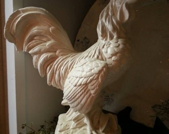 Cream Farmhouse Rooster