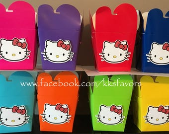 Kitty Favor Boxes - Set of 8