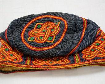 Yoruba Original Aso-Oke Cap