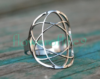 Lithium ring - Stainless Steel