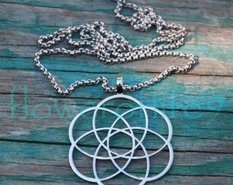 Infinity pendant (1 3/8 inch) - Stainless Steel