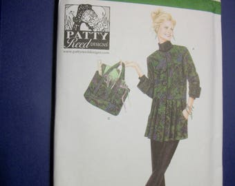 Simplicity 4183 Miss Size AA (xs,s,m) Everybody craft coat, pants and tote bag.  Patty Reed Designs