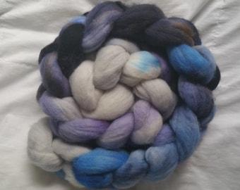 Hand Painted Merino Wool - Winter Colors