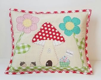 Gnome House Pillow Cover