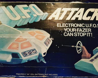 UFO /ufo attack game/electronic ufo/1970s electronics/fazer game