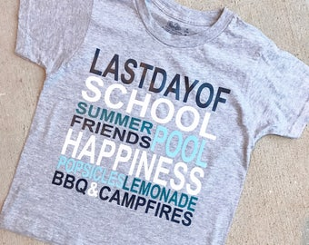 Last day of school shirt