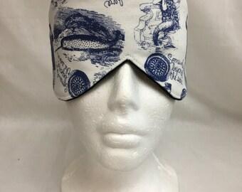 Narwhal Cotton Sleep Mask and Case Set, Eye Mask, Travel Mask