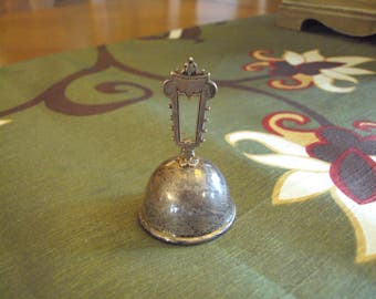 Antique JWR Sterling Dinner/Tea Bell