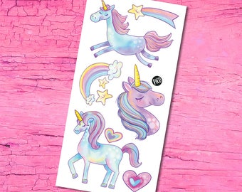 Temporary Tattoos - The Cute Unicorns