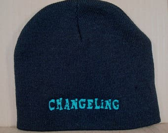 MLP Changeling Embroidered Beanie