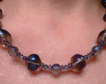 Glass Bubbles Necklace