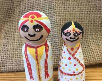 Indian Peg People
