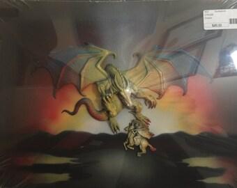 Dragon Sportlight Art