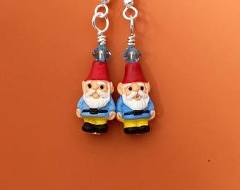 Skyblue Gnome Earrings