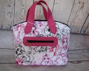 Pink and Black handbag