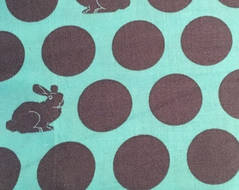 Hoppy Dot in Shade from Fox Field by Tula Pink by the Fat Quarter, Modern Quilting Fabric