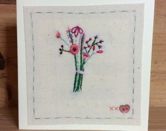 Little bouquet card