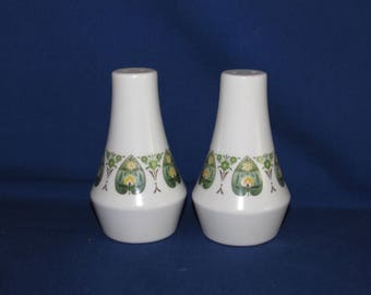 NORITAKE PALOS VERDE Salt and Pepper Shakers 1970