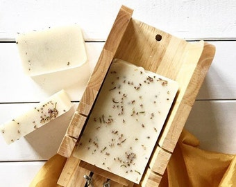 LAVENDER and HEATHER FLOWER | All Natural | Handmade | Palm Free Soap