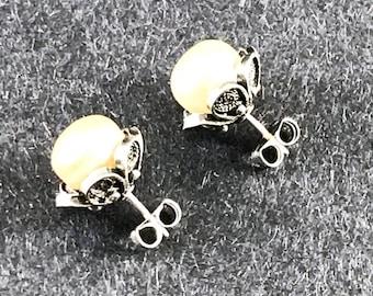 Mediterranean Petite Pearl Earrings - Volume II