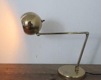Vintage Atomic lamp /// Orb Table lamp