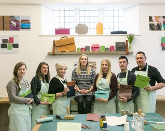 Leather Workshop - make your own Clutch Bag or Ipad Case