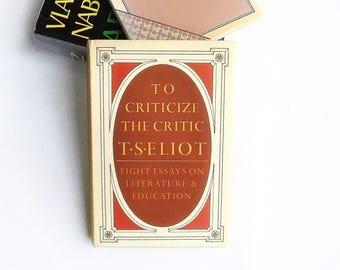 t.s. eliot critical essays