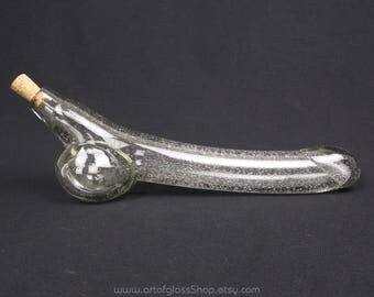 Glass penis carafe
