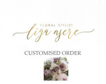 Customized order deposit/ Carolyn Moore