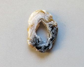 1pcs Natural Druzy Agate Geode Slices C4662
