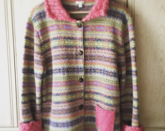 J Jill Cardigan Sweater