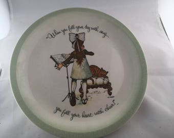 Vintage Holly Hobby Plate
