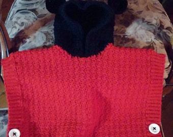 Hooded Mickey Poncho