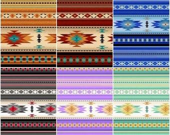 Aztec 201 Tucson Cotton Fabric! 12 Colors! [Choose Your Cut Size]