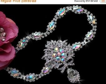 Wedding Gatsby Headpiece , Bridal Headpiece , AB Beaded Bridal Headband , Wedding Headband , Bridal Hair Accessories Jewelry Tiara